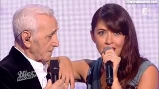 Charles Aznavour & Nolwenn Leroy chantent Mireille et Jean Nohain - Puisque vous partez en voyage