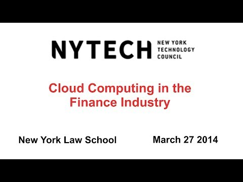 Cloud Computing in the Finance Industry