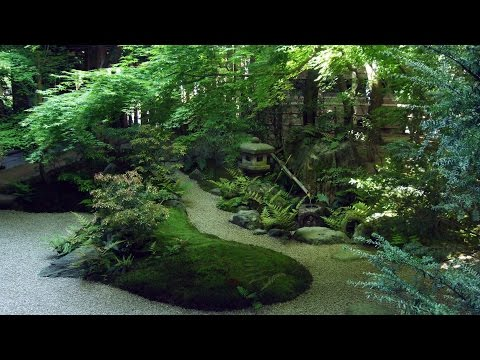 3 HOUR Japanese fountain 'Shishi-Odoshi' sound for Relaxing