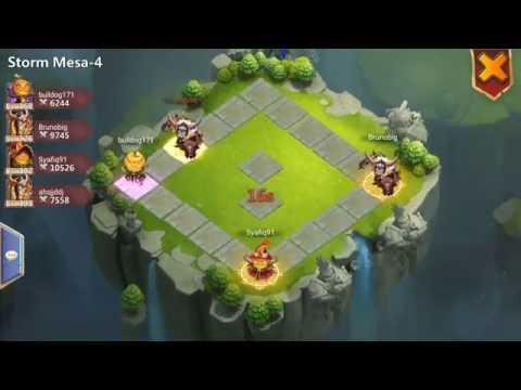 Storm Mesa 4 Best In 2 Min For Winning Castle Clash