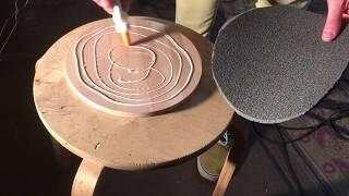Пэд из подручных материалов / Drum Practice Pad from available materials
