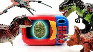 Who's Dinosaur Eggs? Jurassic World Lego Toys And 4D Puzzle Dino Toys~ Learn Dinosaur Names