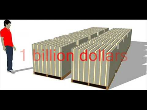 How Much is 1 Trillion Dollars?
