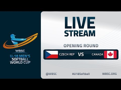 Czech Republic v Canada - U-18 Men's Softball World Cup 2020 - Opening Round