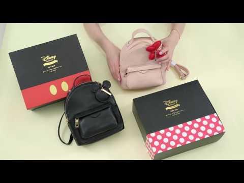 Grace gift 官方購物網站- 米奇吊飾後揹造型包