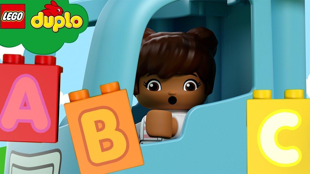 LEGO DUPLO | The Alphabet Song | Lego Build | Nursery Rhymes & Kids Songs | ABC 123