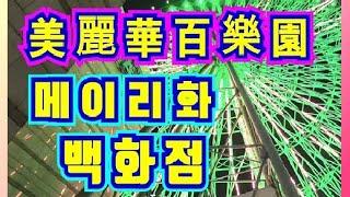 [Taiwan44]美麗華타이페이에 있는 옥상의 관람열차…