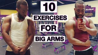 My Last Arm Workout At Planet Fitness!!!