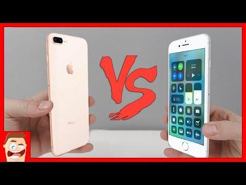 iPHONE 8 vs iPHONE 7 –ЧТО ЛУЧШЕ ВЫБРАТЬ?!