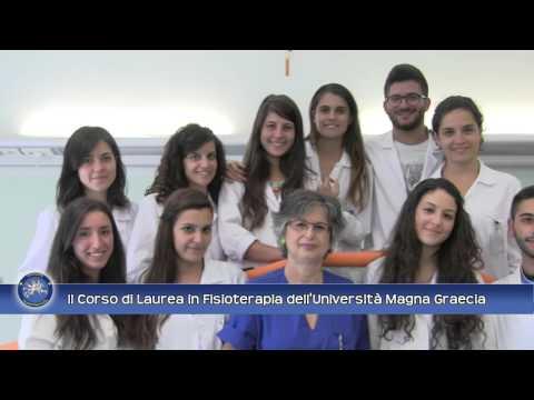 Il Corso di Laurea in Fisioterapia dell'Università Magna Graecia di Catanzaro