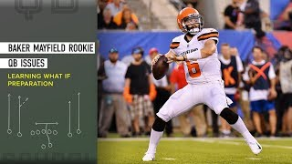 Baker Mayfield Rookie QB Issues – Learning What If Preparation