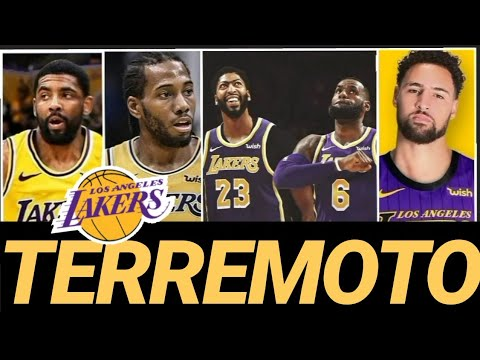 ¡¡LAKERS AL ATAQUE!! KAWHI Leonard, Kyrie IRVING, KLAY Thompson DECIDEN en la NBA 👀👀👀
