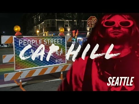 CAPITOL HILL | Seattle Nightlife! 🦄 Bars, Clubs, Street Food? (Vlog Travel Guide Tour, Q Nightclub)