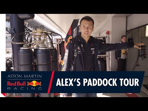 Alex Albon's Russian Grand Prix Paddock Tour