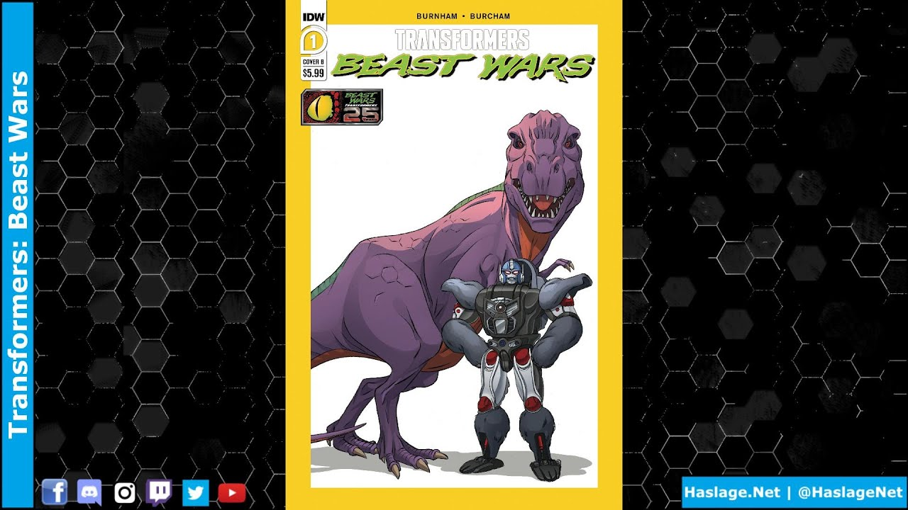 Transformers: Beast Wars #1 Story & Review by HNE Games