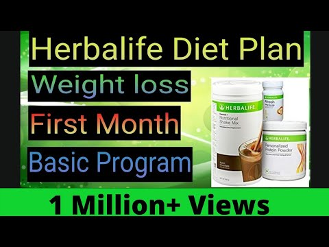 [Hindi] Herbalife Weight Loss Diet Plan Ist Month Program