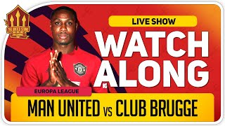 MANCHESTER UNITED vs CLUB BRUGGE | With Mark Goldbridge LIVE