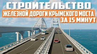 Крымский мост Строительство за 15 минут Полгода строительства Железной дороги Керченский мост