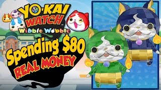 Yo-Kai Watch Wibble Wobble - Rewards For Spending $80 In REAL MONEY! [iOS Android Gameplay]