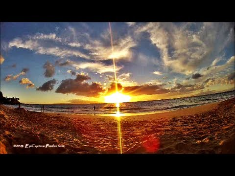 Fall Wallpaper Hd 1920x1080 Hd Hawaii Sunset 2013 Time Lapse With The Gopro Hero 3