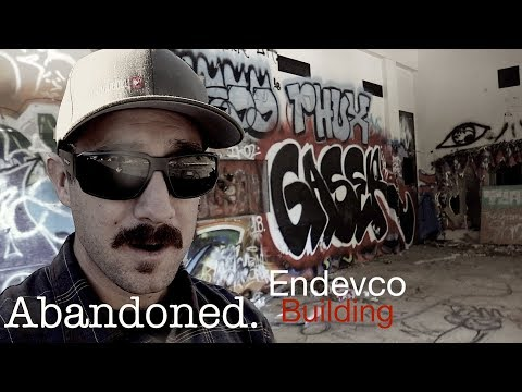 Exploring Creepy ENDEVCO Building - Abandoned Orange County