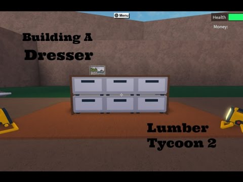 How to make a Dresser! Roblox Lumber Tycoon 2