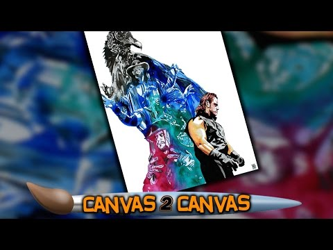 The Deadman brings destruction to the canvas: WWE Canvas 2 Canvas