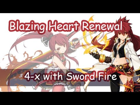 Elsword - Blazing Heart Renewal in 4-x