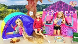 Barbie doll Camping Tent Toy boneka Barbie Tenda berkemah Barbie Barraca de Acampamento