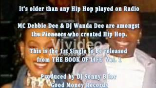 Promo for THE BOOK OF LIFE CD Vol. 1   MC Debbie D & DJ Wanda Dee @ Harlem World  DJ Sonny B  1981