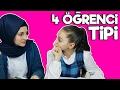 ÖĞRENCİ TİPLERİ , Okullardaki Gıcık 4 Öğrenci Tipi | Eğlenceli Video