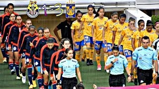 Chivas vs Tigres 1-3 Resumen Goles Liga MX Femenil 2018