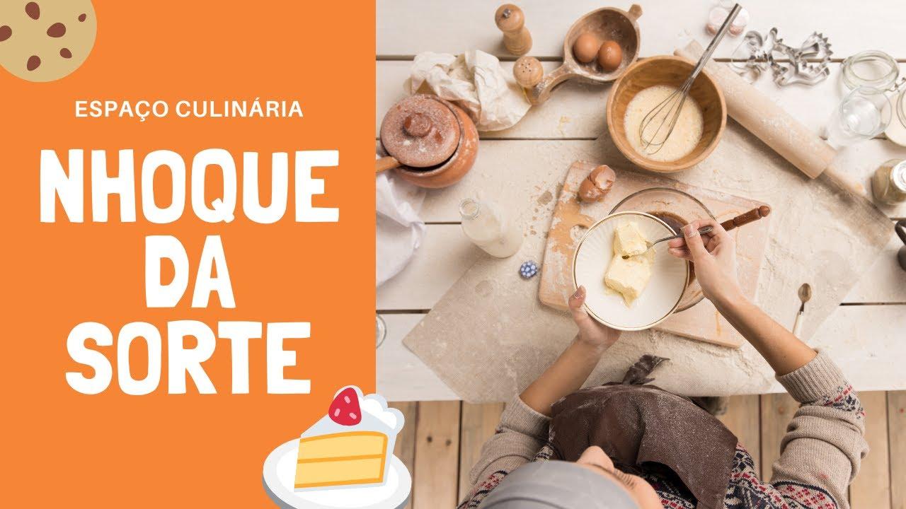 NHOQUE DE MANDIOQUINHA E BATATA