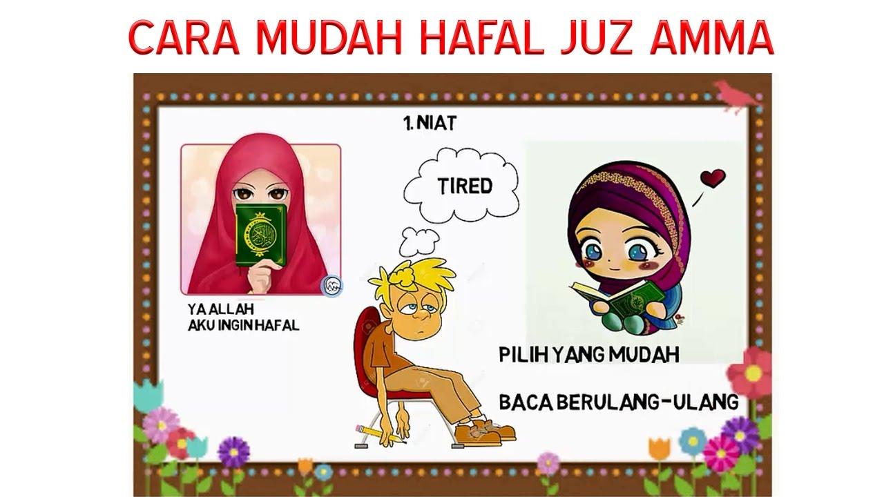 Cara Cepat Hafal Juz Amma