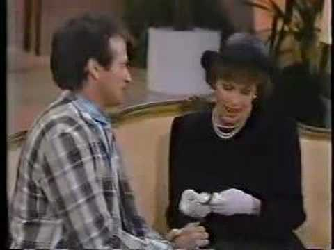 Carol Burnett and Robin Williams -The Funeral