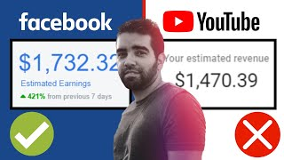 YouTube VS Facebook Monetization   Which is better?