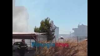 Δεύτερη φωτιά στον οικισμό των Ρομά