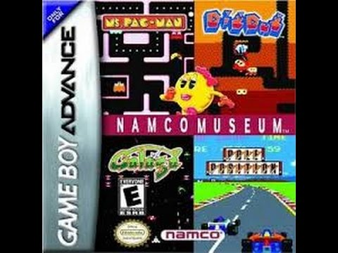 NAMCO MUSEUM: MS. PAC-MAN NINTENDO GAMEBOY ADVANCE 1995 GBA CLASSIC RETRO VIDEO GAME