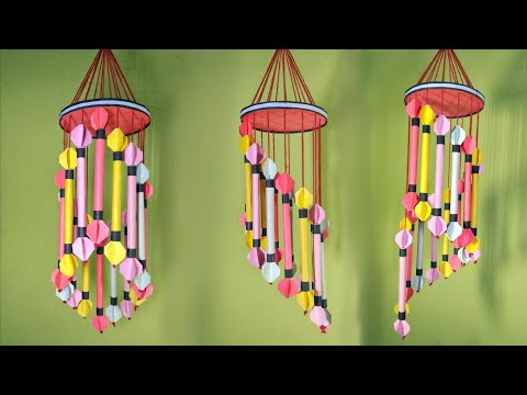 Wind chime making at home // Wind chime DIY // wind chime craft ideas