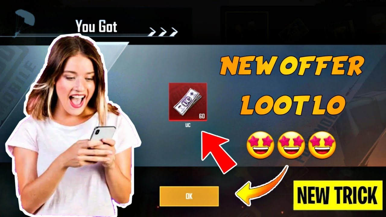 3000UC Free in PUBG Mobile Biggest Trick Ever to Get Free UC in 2 Anniversary Celebration Crate
