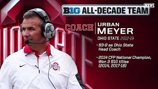 #BTNAllDecade Voters on Why Urban Meyer Is An All-Decade Team Selection | Big Ten Football