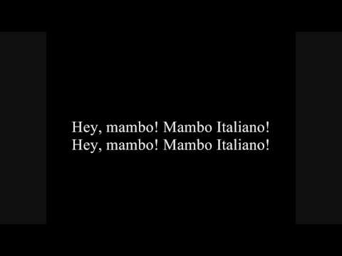 Mambo Italiano - Renato Carosone with Lyrics