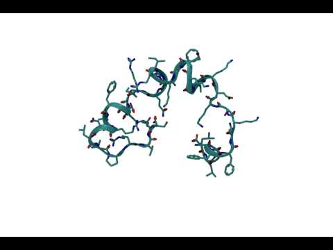 LL37 conformational change upon binding with G quadruplex