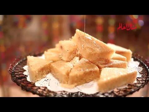 مثلثات الكنافة بالقشطة - مطبخ منال العالم