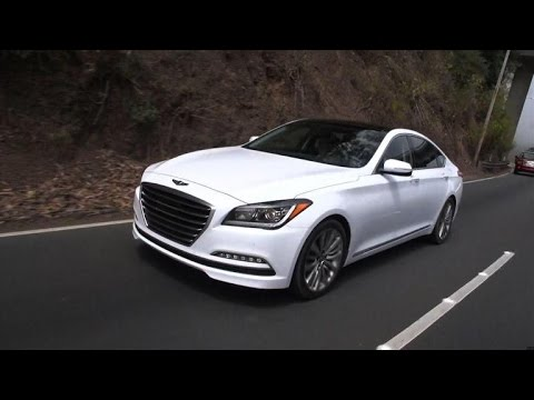 On the road 2015 Hyundai Genesis 5.0