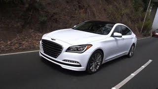 On the road 2015 Hyundai Genesis 5.0 смотреть