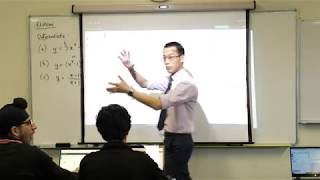 Calculus of Exponential Functions (1 of 4: Considering derivatives visually)