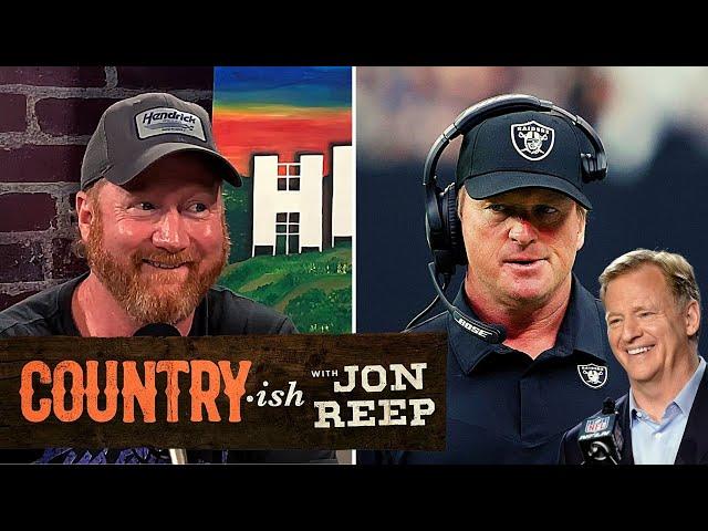 UNFAIR? Jon Reacts To Jon Gruden's Resignation...   Country·ish with Jon Reep