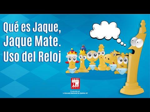 Qué es Jaque Jaque Mate Uso del Reloj Aprendamos Ajedrez desde Cero