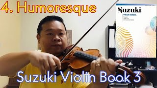 Suzuki Violin Book 3 - 4. Humoresque